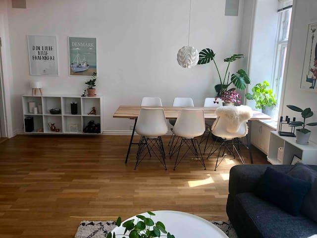 Moderne lejlighed i hjertet af Nørrebro tæt på alt