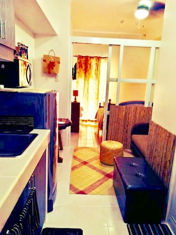 1 bedrooom, Filipiniana Inspired condo unit.