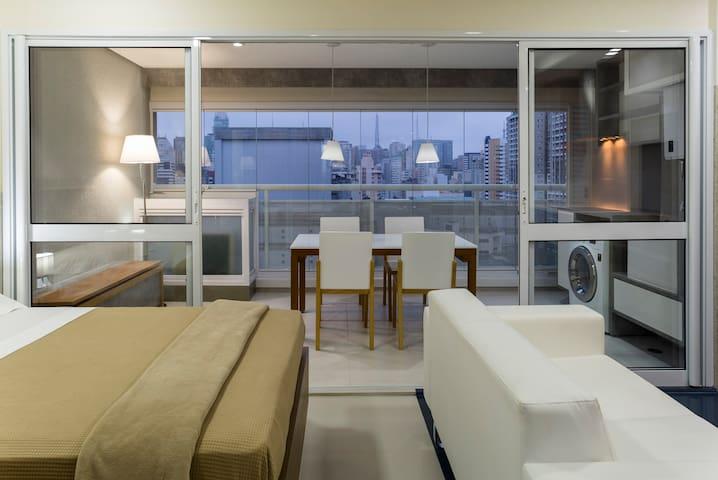 Moderno apto proximo a Paulista - São Paulo - Apartemen