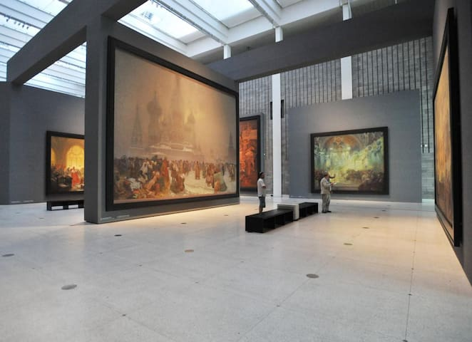 National gallery on the same street with great art