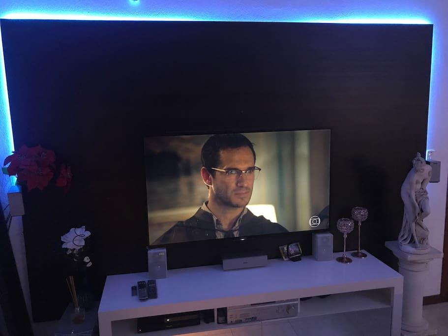 "Tv 50"" - home teather - Apple - TV sky"