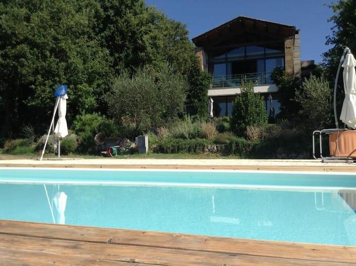 Il Melo Villa moderna panoramica