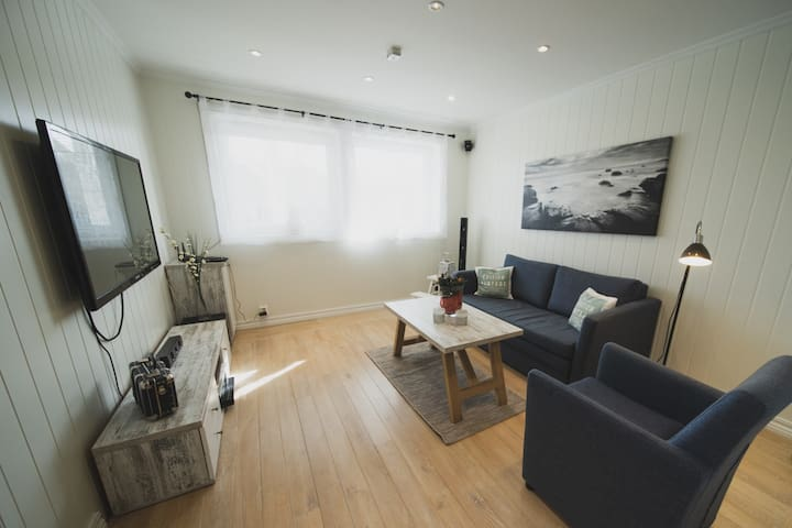 Newly renovated apartment in Bekkjarvik