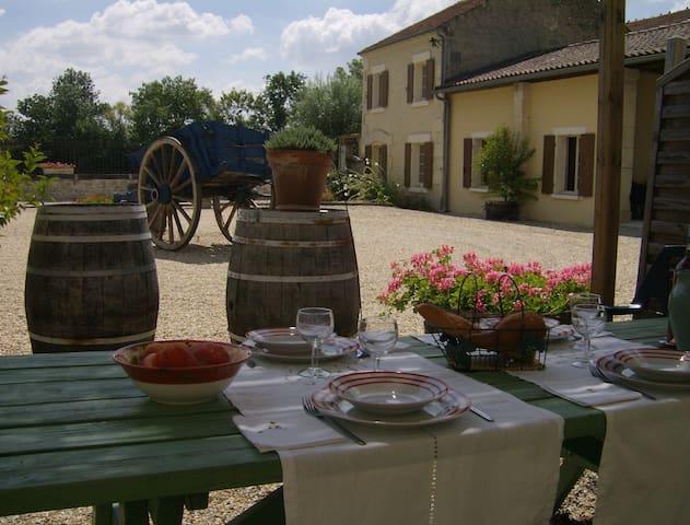 Gites de Cognac - La Maison