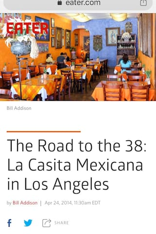 Visit this neighborhood gem and one of LA's must-try mexican eateries