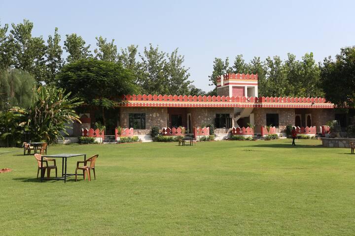 Deluxe Cottages at Resort in Pushkar 5 - Pushkar - Cabaña en la naturaleza