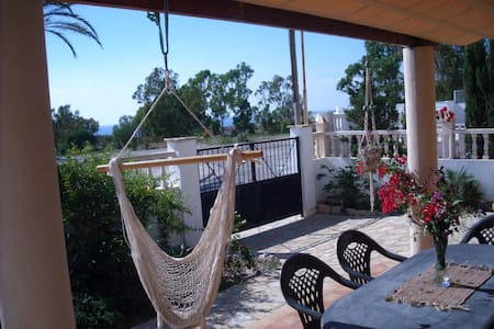 Relax in quiet villa w/pool.  Uncroweded beach. - La AZOHIA, CARTAGENA - Villa