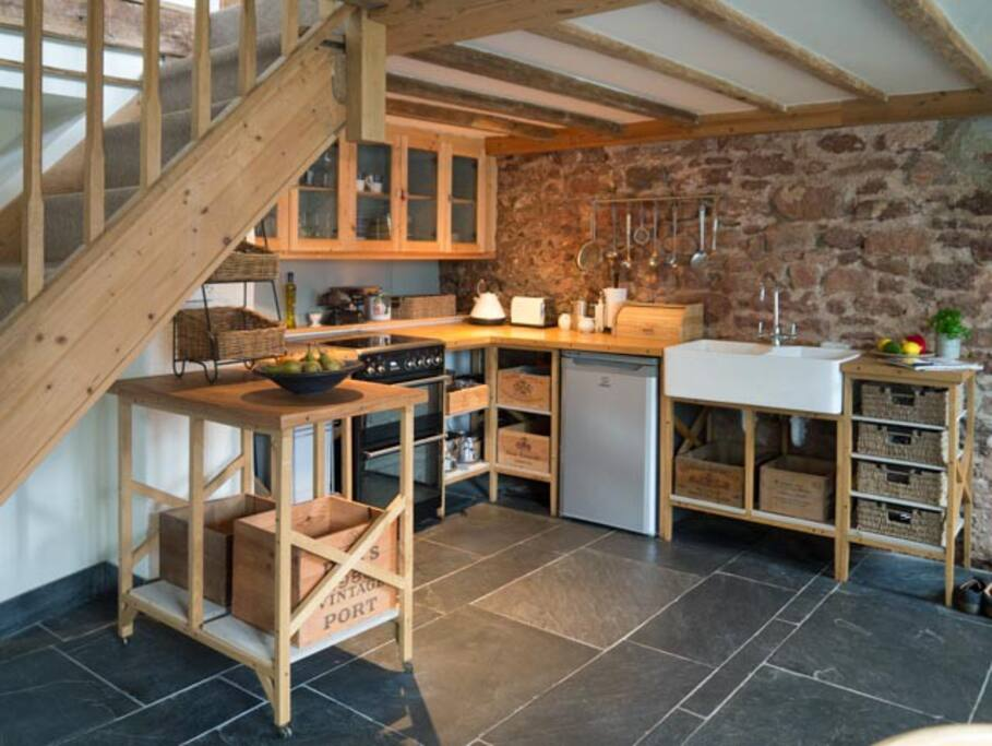 This converted barn dates back to 1637. We like to think we have maintained the rustic feel (but with clean modern facilities!)