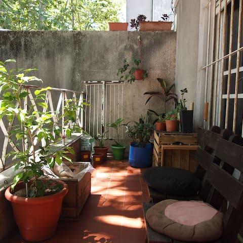 Habitación con aroma a café - Montevideo - Appartamento