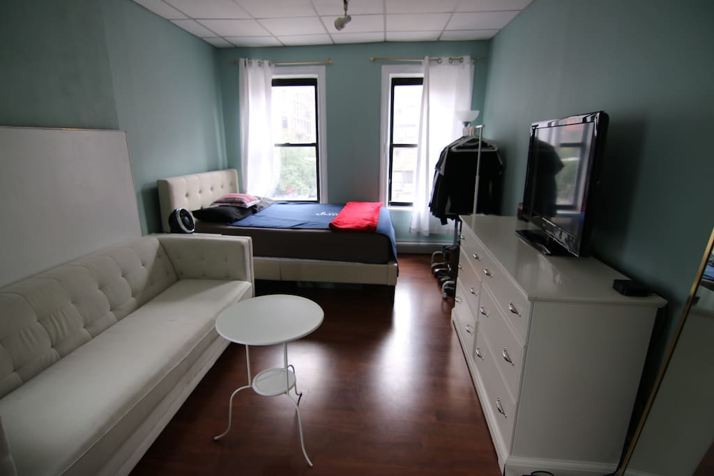Large studio style bedroom