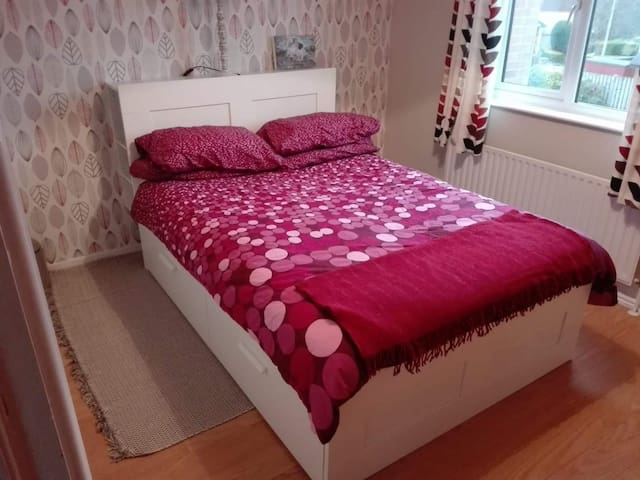 Bright clean double room