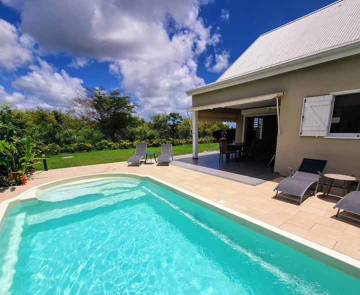Ohana Villa Sainte-Anne, Private Pool, Near Beach
