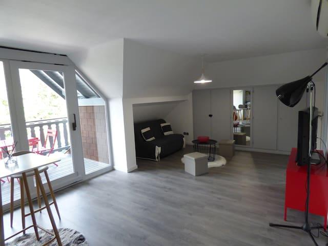 60 m2 en espace privatif a 10min de STRASBOURG