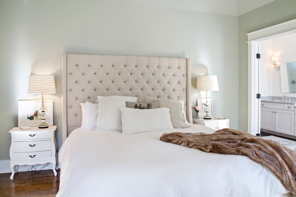 Master Bedroom- California King Bed