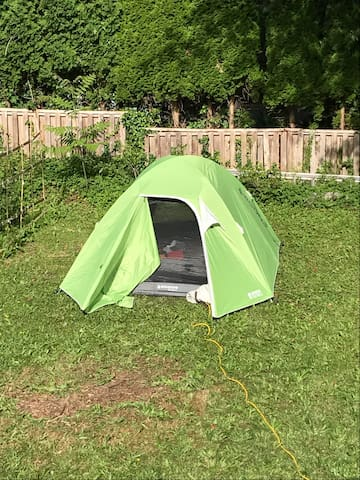 Image result for north vancouver airbnb tent