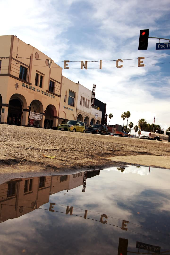 Venice Beach - Our location