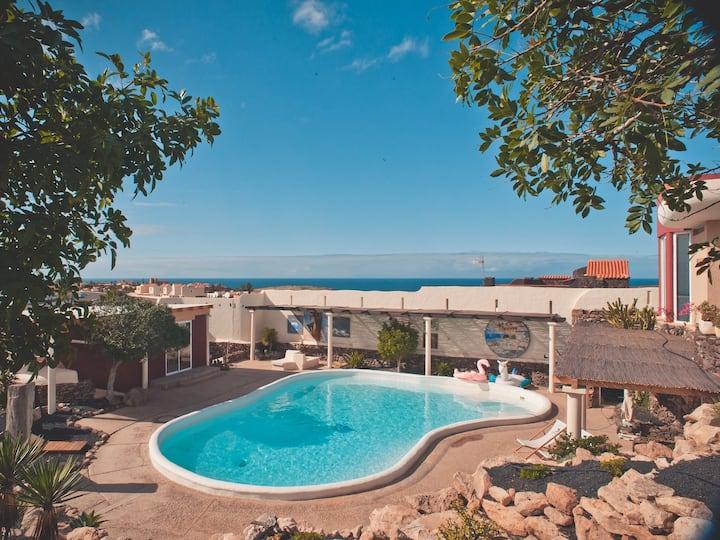 Studio - Agua - Surf & Yoga Villa