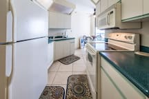 Fully equipped kitchen  new stainless appliances!