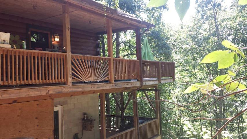 Double decks allows you to enjoy the view rain or shine.