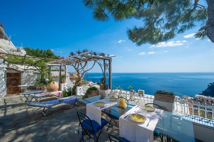 Casa Pimpinella Positano Mediterranean home