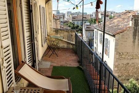 Chambre 25 m2 - Colocation proche Longchamp