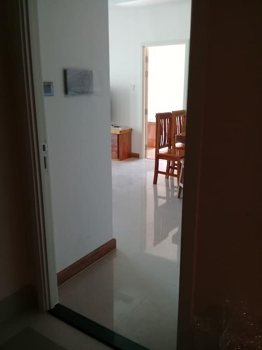 ทางเข้าห้อง