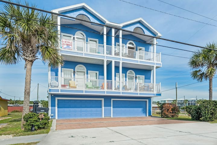 Huge Balcony! Gulf Views! 50ft to Beach Access☼Fully Remodeled!☼3BR BEST Day 202