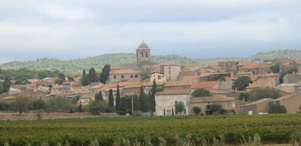 Charming Village House - La Livinière