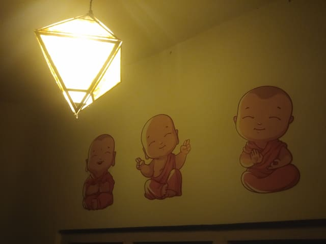 Private Room in Backpacker's Den.