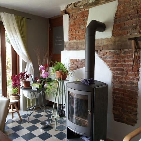 Une maison a la campagne