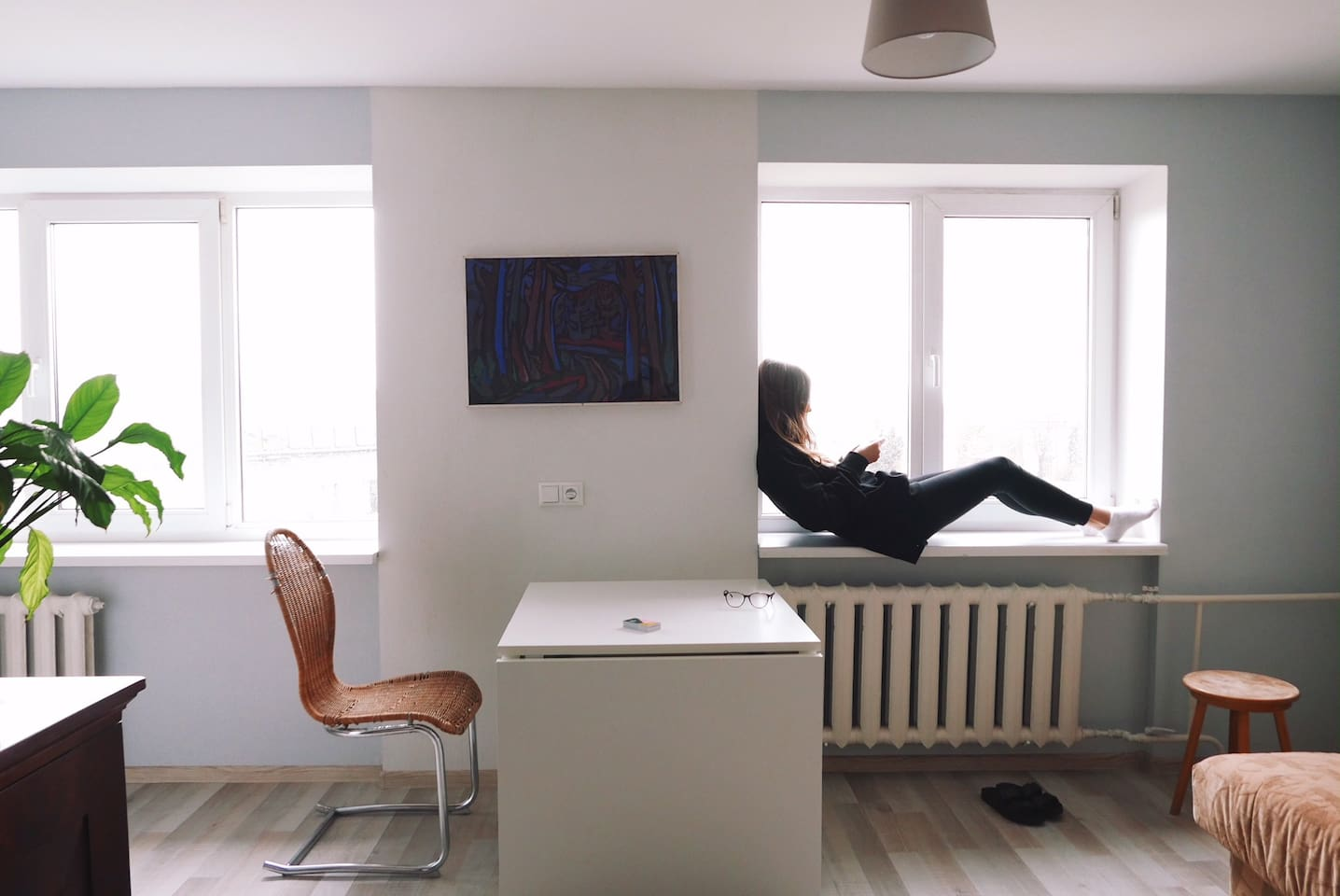 Bright and lovely stay in Artists Residence small brother - O'Clock apartment