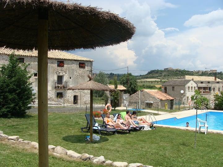 Apartamento  terraza  y piscina en Parque Natural
