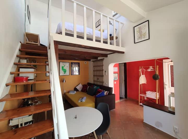 Cosy Family House's Studio - 8 min from beaches