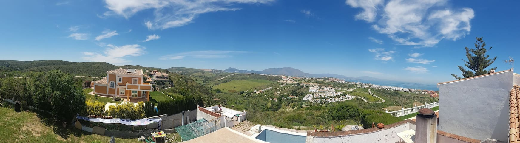 360 view from our roof/dining