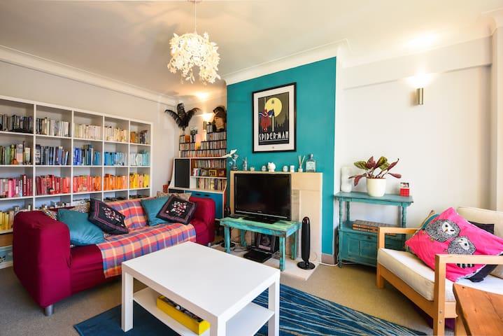 Lovely big 1 bed flat Brighton/Hove - Hove - Apartamento