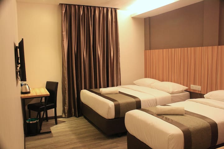 2 SUPER SINGLE BEDS - EXEC DELUXE B - Kota Tinggi