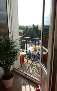 Vue sur Paris - Nogent-sur-Marne