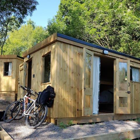 Cabin Gwynfa nr BikePark Wales & Brecon Beacons