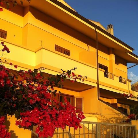 appartamento indipendente in villa