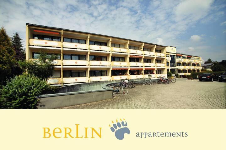Appartementhaus Berlin (Bad Füssing), Appartement II u. III - (25-26qm) mit Kleinküche