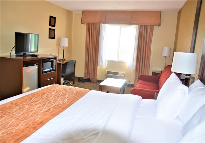 Comfortable extended stay - Comfort Inn & Suites
