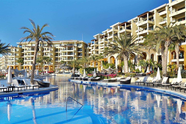 Beautiful 5 Star beach front resort.