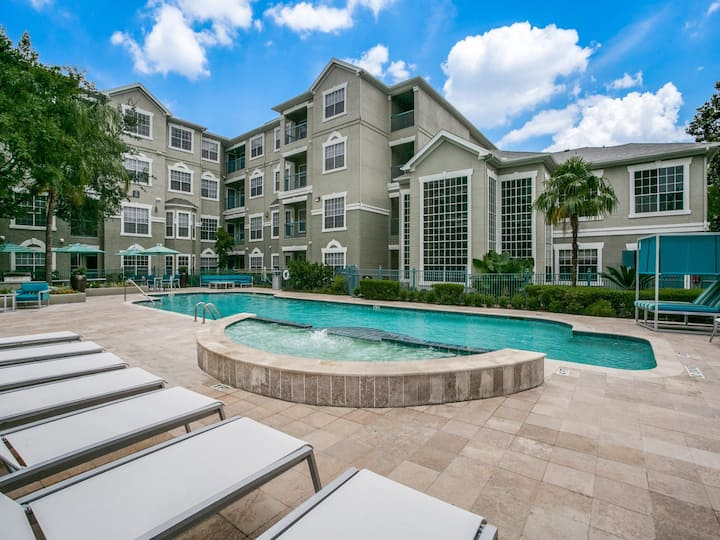 Cozy 2 Bedroom Apartment in the Texas Med Center