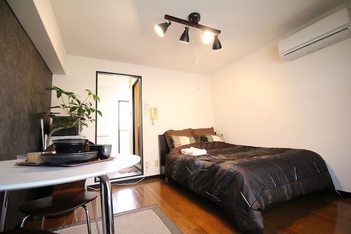 1 sta to Namba/Great for couple/Safe/Convenient