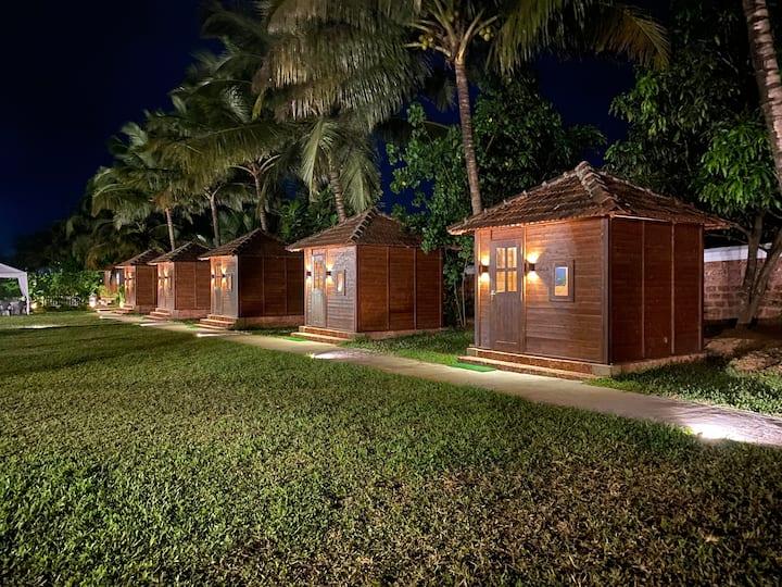 Wooden huts By Santana inn