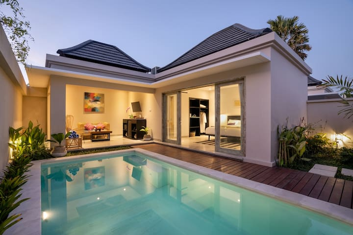 SPECIAL MONTHLY RENT Private Pool Villa in Canggu!
