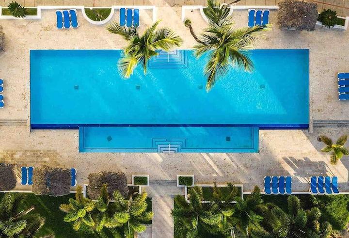 Luxury apartment inside Be Live Hamaca Resort