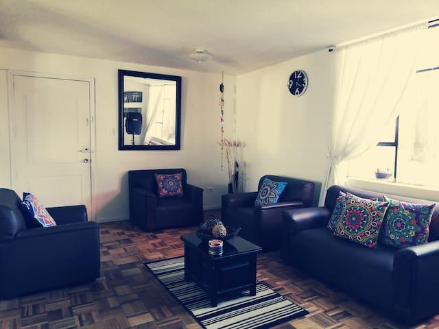 Lindo y relajante dormitorio al norte de Quito