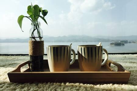 千岛湖飘窗湖景大床房 - Hangzhou - Ev