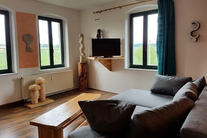 Große Ferienwhg., Dorfidylle, 10 min von Dresden - Dohna - Apartamento